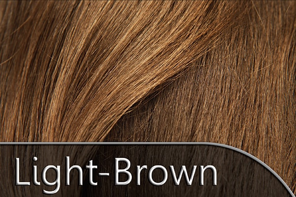Light Chestnut Brown Hair Extension Color Swatch Donna