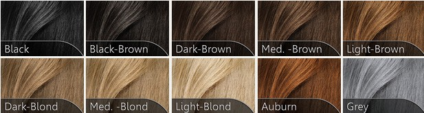 Hairfor2 Hair Colour Swatches